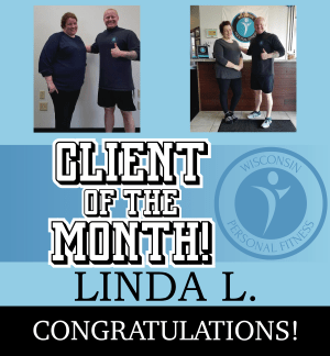 Personal Training in New Berlin - Wisconsin Personal Fitness - May Client of the Month!