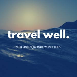 Travel Well - 3 Strategies to consider when eating on vacation