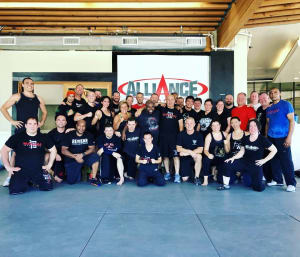 Krav Maga Advanced Training in Los Angeles!