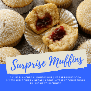 Personal Training  in San Jose - 5:17 Total Body Transformations - Recipe of the Week: Surprise Muffins