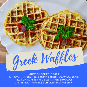 Personal Training  in San Jose - 5:17 Total Body Transformations - Recipe of the Week: Greek Waffles