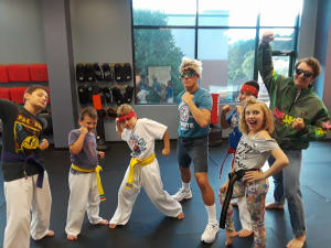 The kids and instructors had a bodacious time during 80's week!