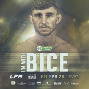 #FactoryX is always with you Sidney Bice! Official result: LFA: Legacy Fighting Alliance #LFA37 Results: Maikel Perez def. Sid Bice via TKO (Ref Stoppage due to Strikes) 4:14 into Round 2. ?