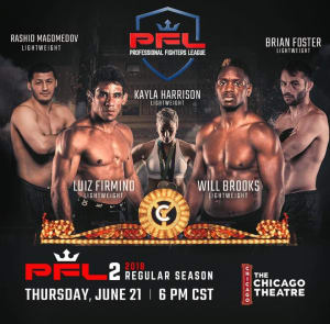 • Brian Foster • ProFightLeague • #PFL2 • June 21, 2018 • The Chicago Theatre •