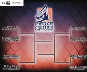 Randy Rowland FIGHT NEWS!!!!!!  #Repost @rarow5 with @get_repost ··· I can finally announce this. I'll be taking part of @fiercemma 155lbs tournament. The first round is July 14th in Price Utah. I'm honored to be apart of this tournament!