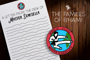 in Birmingham - World Class Tae Kwon Do - Personal Letter to the Families of Birmingham from Master Scarsella
