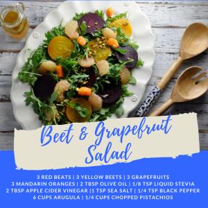 Recipe of the Week: Beet & Grapefruit Salad