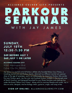 Parkour Seminar at Alliance Culver City