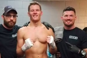 Colin Conway Wins Mixed Martial Arts Fight