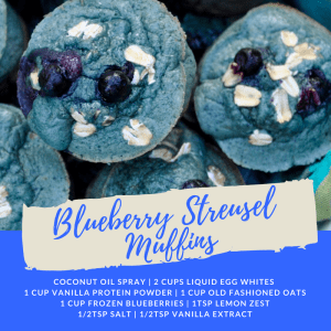 Recipe of the Week: Blueberry Streusel Muffins