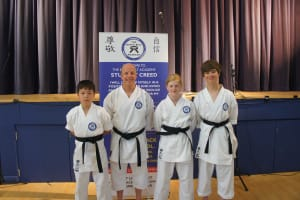 in Verwood - The Black Belt Academy - New Black Belts