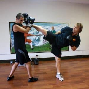 Head & Arm Choke in Martial Arts
