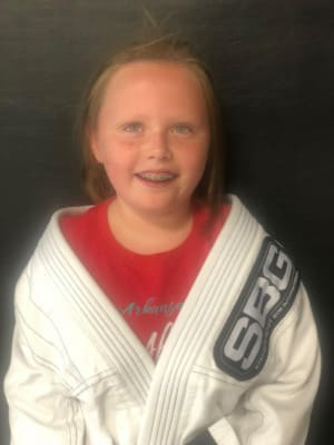 Georgia Norris is July's Kid of the Month