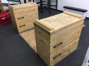 New Toys for Alliance CrossFit Culver City -- More Jerk Blocks!