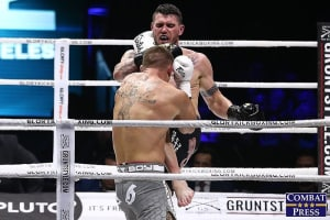 Chris Camozzi is back in the GLORY ring again!!!
