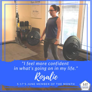 June's Client of the Month: Rosalie