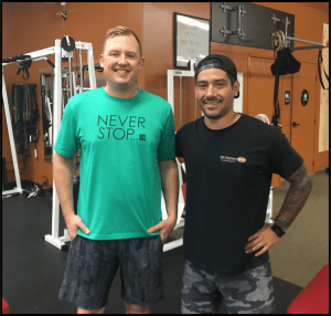 Personal Training in Huntington Beach - The Training Spot - Success Story: Brent