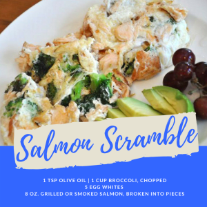Recipe of the Week: Salmon Scramble