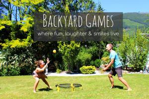 Backyard Games to Help You Burn Calories