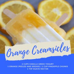 Recipe of the Week: Orange Creamsicles