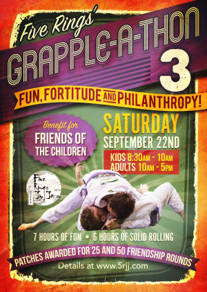 in Portland and Beaverton - Five Rings Jiu Jitsu - Five Rings Grapple A Thon 3