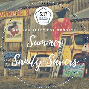 Summer Sanity Savers: Week 6