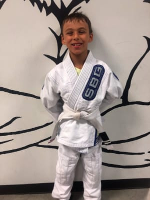 in Buford - Straight Blast Gym Buford - Aiden Coutu is August's Kid of the Month!