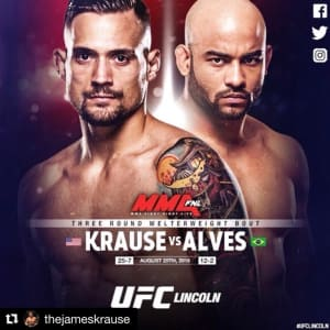 James Krause is UFC poster official!