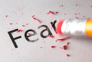 Courage to admit fear