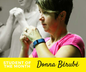 Student of the Month - Donna Bérubé