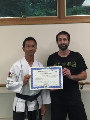 in Racine - Chay's Tae Kwon Do - Level 4 Krav Maga Instructor