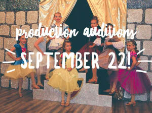in Richmond - Rhythm Inc. Dance Studio - Production Auditions September 22