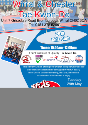 in Wirral - Wirral & Chester Taekwondo