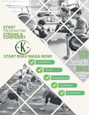 Back to School Kids Krav Maga Special in Clarksburg / Germantown
