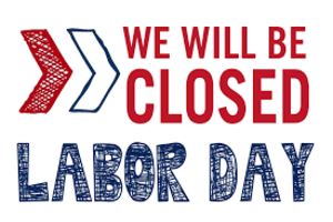 Labor Day 2018 Weekend Schedule