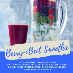 Recipe of the Week: Berry'n'Beet Smoothie