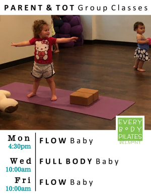 Privates in Belmont - Every Body Pilates - New Parent & Tot Group Classes