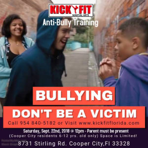 Anti-Bully Self Defense Class - Cooper City