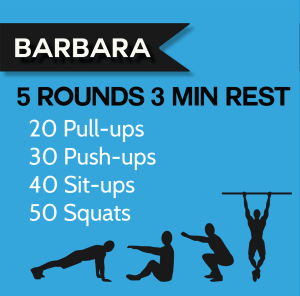 "CrossFit WOD ""Barbara"" For The Leaderboard!"