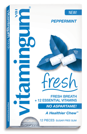 The Best Aspatame-Free Gum… That Doesn't Taste Like Crap!