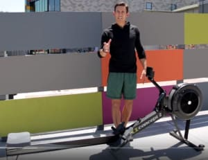 WHY we shouldn't lift our heels off the rower when we row!