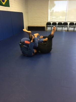 in Orange - Mamute Jiu Jitsu - Always Learning