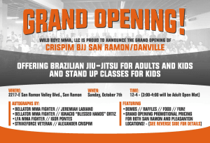 Crispim BJJ Danville is Moving to San Ramon!