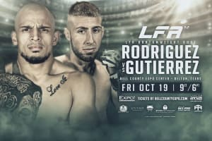 Chris Gutierrez FIGHT ANNOUNCEMENT!