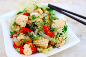 RECIPE OF THE WEEK - GRILLED LIME SQUID SALAD