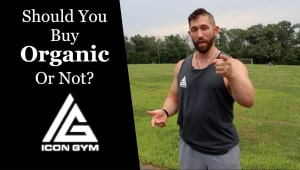 Personal Training in Ashburn - Icon Gym - Organic Food