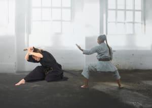 in St. Louis - Dave Hanson's Gateway Karate - Karate-ka and The Katana