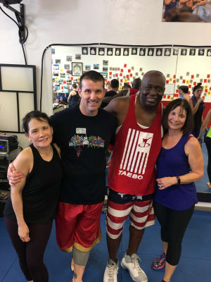 TaeBo® Fitness Kickboxing in San Bruno - Dojo USA World Training Center - THE BLUE ANGELS ARE COMING
