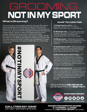 in Davie and Cooper City - Traditional Taekwon-Do Center Of Davie - #NOTINMYSPORT