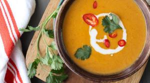 Recipe Of The Week: 5 Ingredient Thai Pumpkin Soup